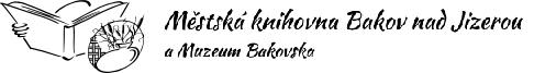 Knihovna Bakov logo