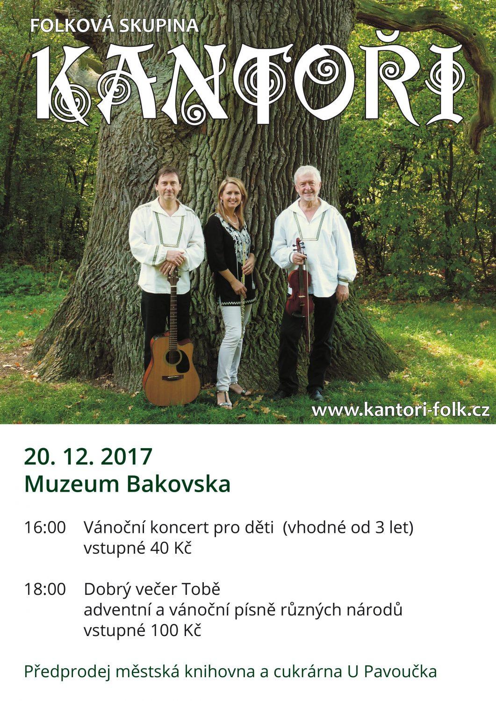 Koncert skupiny Kantoři