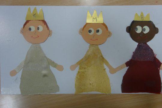 Tvůrčí dílna – výroba tří králů obrázek
