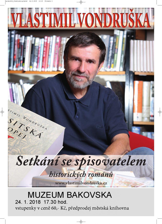 Setkání se spisovatelem Vlastimilem Vondruškou
