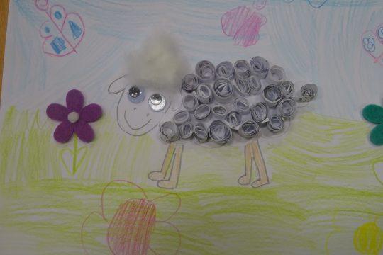 Tvůrčí dílna – výroba ovečky obrázek