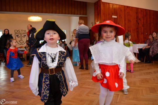 Dětský maškarní ples 18. 2. 2018 – divadelní sál budovy radnice v Bakově nad Jizerou obrázek