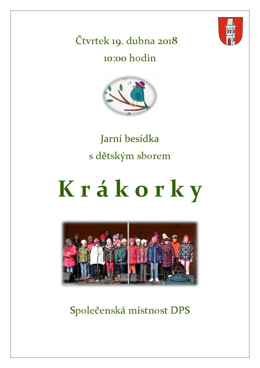 Vystoupení sboru Krákorky v DPS Bakov n. J.