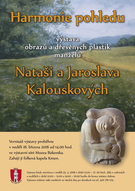 Harmonie pohledu – výstava tvorby manželů Kalouskových