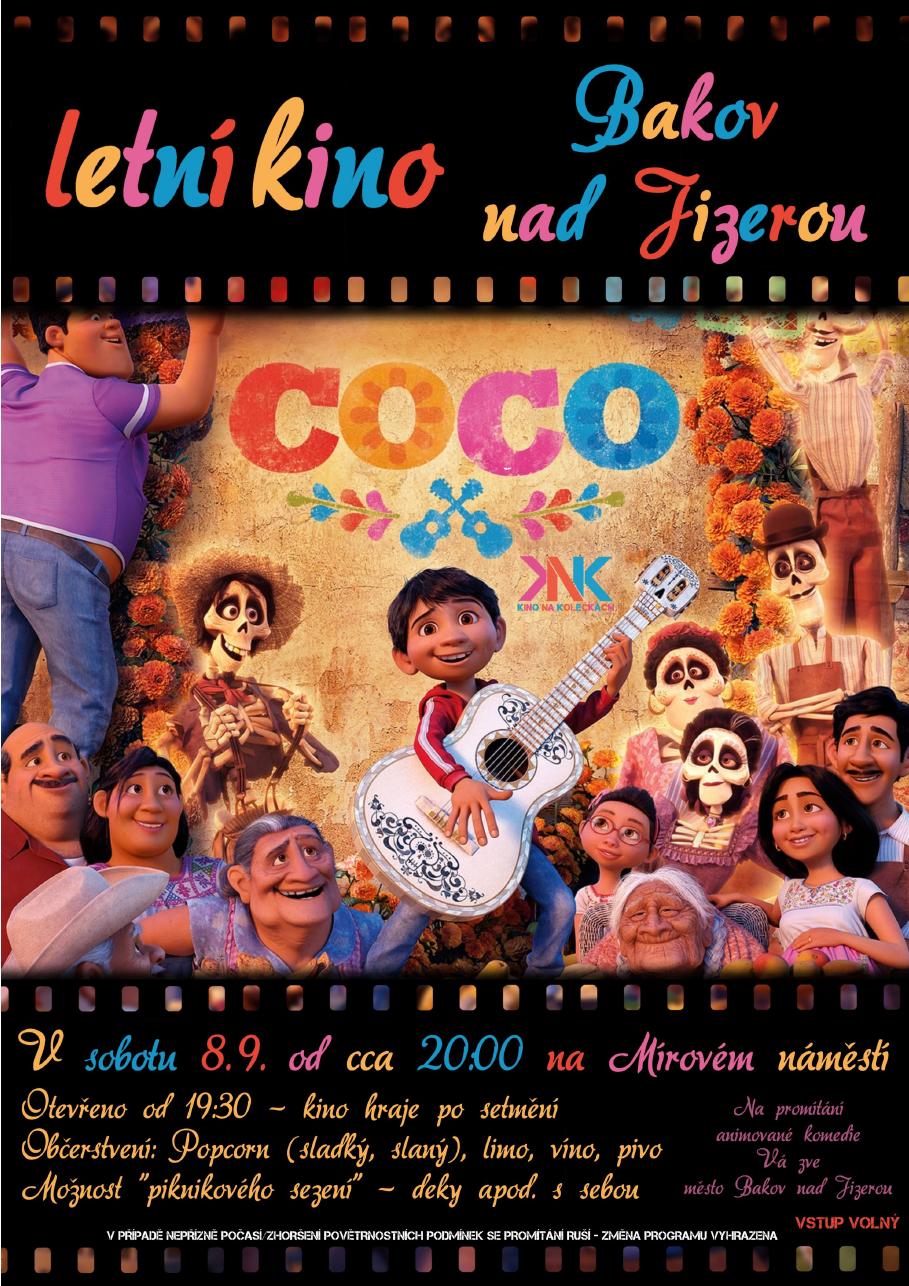 Kino na kolečkách – film Coco
