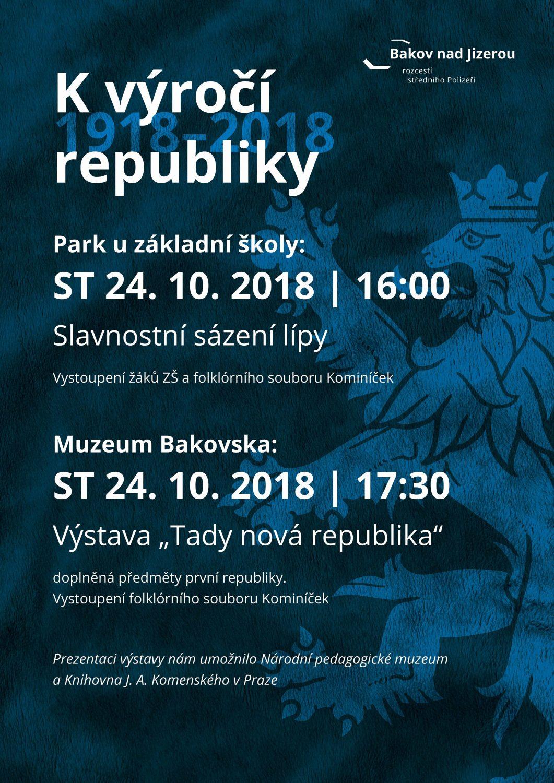 K výročí republiky