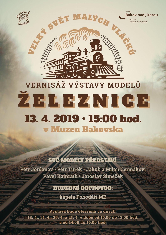 Vernisáž výstavy železničních modelářů