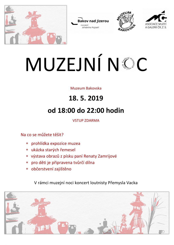 Pozvání do Muzea Bakovska