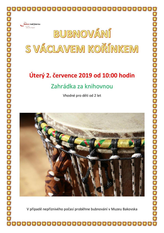 Bubnování s Václavem Kořínkem