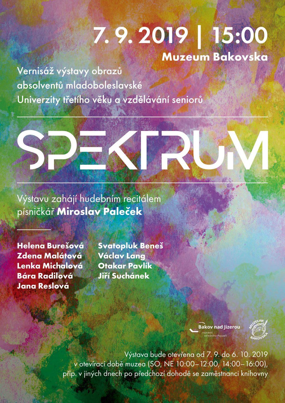SPEKTRUM – výstava absolventů mladoboleslavské Univerzity třetího věku