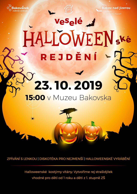 Halloweenské rejdění pro děti
