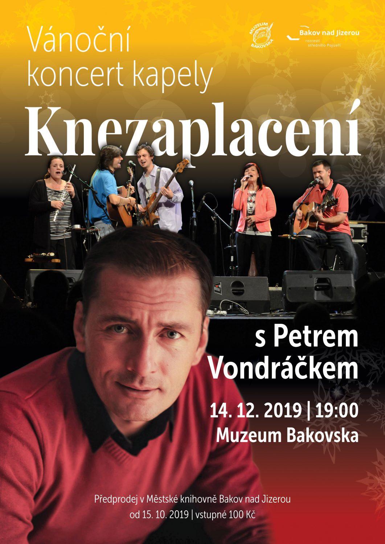 Vánoční koncert kapely Knezaplacení a Petra Vondráčka
