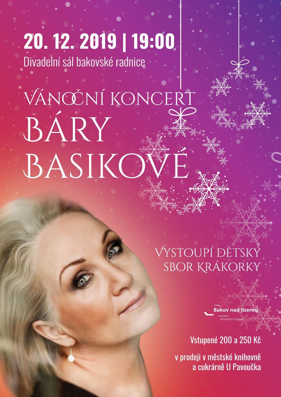 Vánoční koncert Báry Basikové