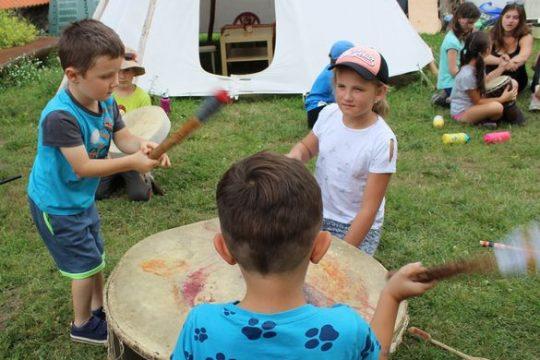 Bubnování s Václavem Kořínkem obrázek