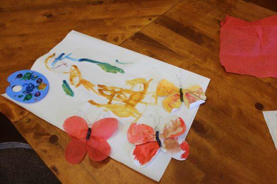 Dílničky pro děti – vyrábíme motýlky obrázek